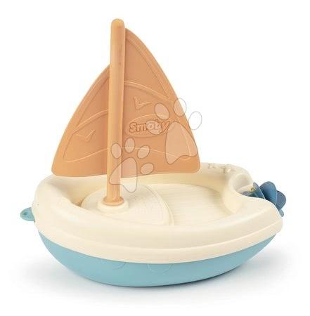 Kültéri játékok - Vitorlás hajó cukornádból Bio Sugar Cane Sailing Boat Smoby Smoby Green 100% újrahasznosítható kollekcióból 12 hó-tól
