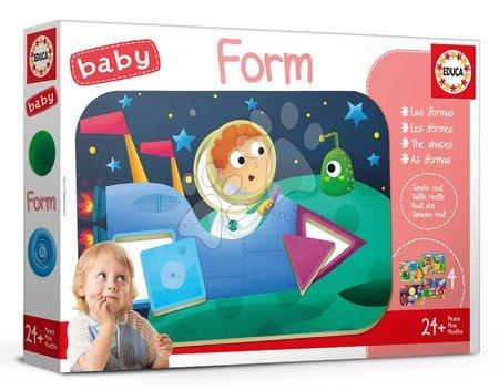 Puzzle pentru copii  - Joc educativ pentru cei mai mici Baby Form Educa Învăţăm formele şi culorile de la vârsta de 24 de luni