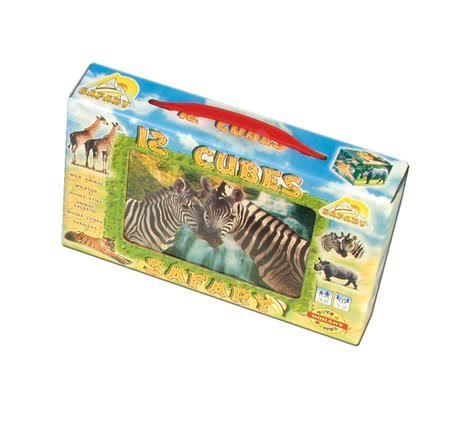 Mesekockák - Mesekockák Szafari Dohány 12 darabos