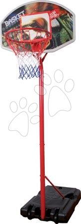 Basketbalový koš Mondo s nastavitelným kovovým stojanem výška 210-260 cm od 5 let
