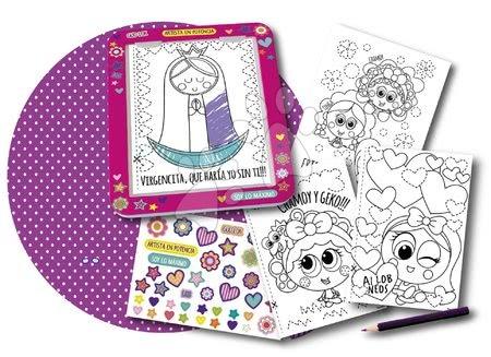 Educa - Kreativní hra kreslení Pinta-2 Educa s předlohami a podložkou od 5 let španělsky_1