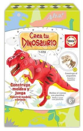 Ustvarjalna igra Izdelaj svojega Dinozavra T-Rex Educa od 6 leta
