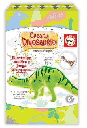 Kreatívna hra Vymodeluj si svojho Dinosaura Brontosaurus Educa od 6 rokov EDU18364