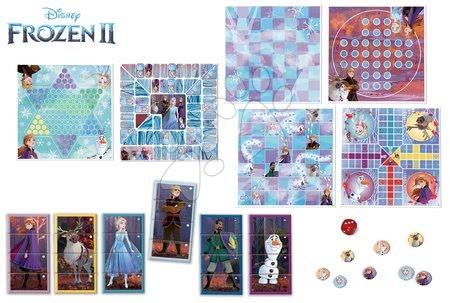 Spoločenské hry - Detské spoločenské hry Frozen 2 Disney 8v1 Special set Educa od 4 rokov po anglicky francúzsky španielsky_1