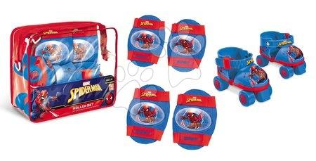 Spiderman - Patine cu rotile The Ultimate Spiderman Mondo cu echipament de protecţie mărimi 22-29