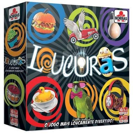 Igračke za sve od 10 godina - Spoločenská hra Loucuras Educa po španielsky od 10 rokov pre 3-10 hráčov EDU18405