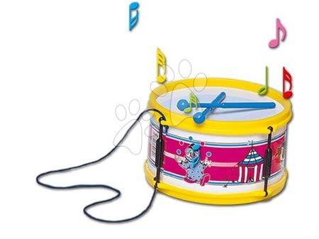 Detské hudobné nástroje - Veľký bubon Dohány s paličkami