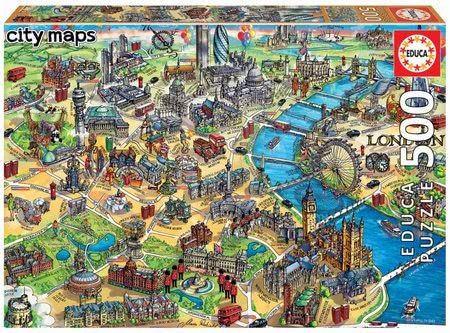18451 a educa puzzle 500