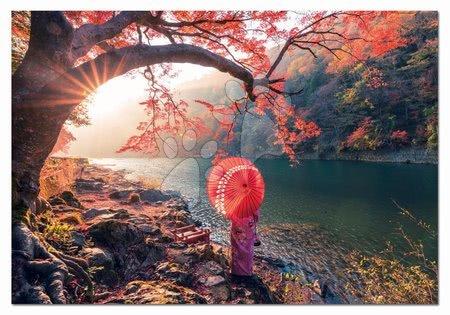 1000 darabos puzzle - Puzzle Sunrise in Katsura River Japan Educa 1000 darabos és Fix puzzle ragasztó 11 évtől_1
