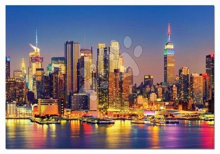 1500 darabos puzzle - Puzzle Manhattan at Night Educa 1500 darabos és Fix puzzle ragasztó 11 évtől_1