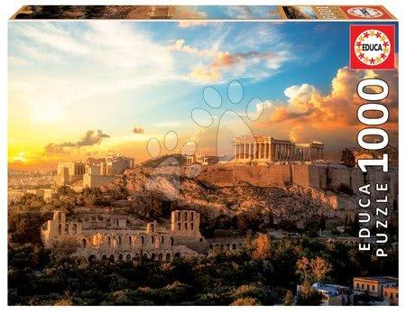 1000 darabos puzzle - Puzzle Acropolis of Athens Educa 1000 darabos és Fix ragasztó 11 évtől