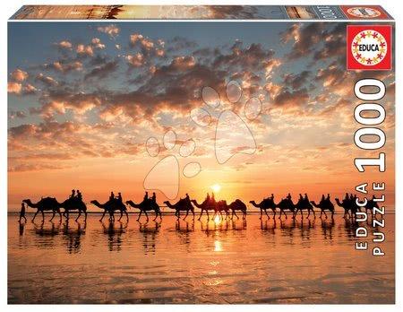 1000 darabos puzzle - Puzzle Golden Sunset on Cable Sunset, Australia Educa 1000 darabos és Fix ragasztó 11 évtől