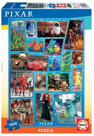 Puzzle Pixar Disney Educa 1000 dielov a Fix lepidlo od 11 rokov