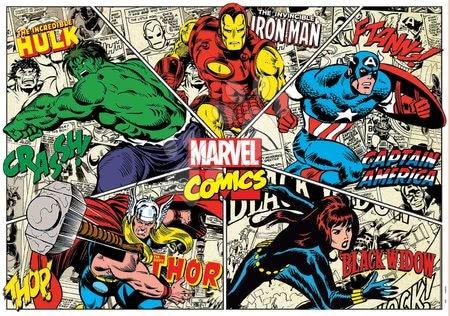 1000 darabos puzzle - Puzzle Marvel Comics Educa 1000 darabos és Fix ragasztó 11 évtől_1