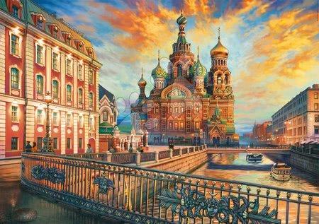 Igračke za sve od 10 godina - Puzzle Saint Petersburg Educa 1500 dijelova i Fix ljepilo od 11 godina_1