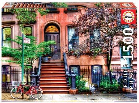 Igračke za sve od 10 godina - Puzzle Greenwich Village, New York Educa 1500 dijelova i Fix ljepilo od 11 godina