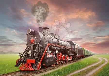 Igračke za sve od 10 godina - Puzzle Steam Train Educa 2000 dijelova i Fix ljepilo od 11 godina_1