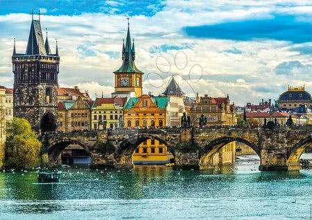 Igračke za sve od 10 godina - Puzzle View of Prague Educa 2000 dijelova i Fix ljepilo od 11 godina_1