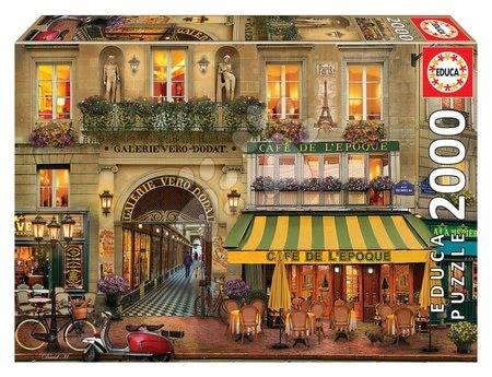 Igračke za sve od 10 godina - Puzzle Galerie Paris Educa 2000 dijelova i Fix ljepilo od 11 godina