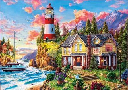 Igračke za sve od 10 godina - Puzzle Lighthouse near the Ocean Educa 3000 dijelova od 11 godina_1