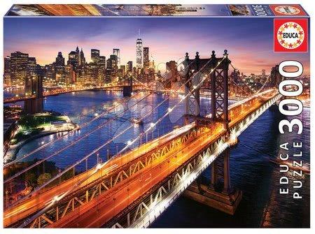 - Puzzle Manhattan at Sunset Educa 3000 delov od 11 leta