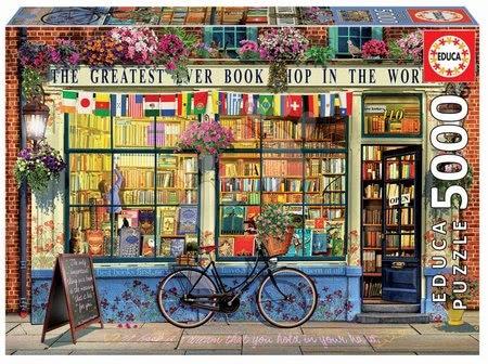 - Puzzle Greatest Bookshop in the World Educa 5000 delov od 11 leta
