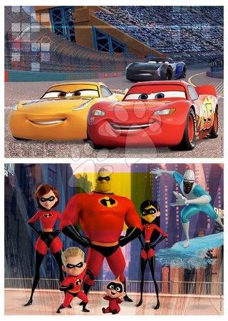 Lesene Disney puzzle - Lesene puzzle Pixar Disney Educa 2x50 delov_1