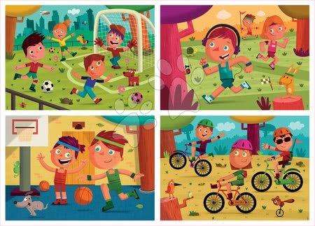 Progresivní dětské puzzle - Puzzle Multi 4 Junior Sport Educa 20-40-60-80 dílků od 4 let_1