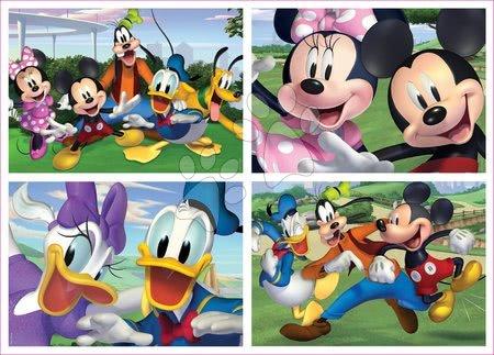 Progresivní dětské puzzle - Puzzle Mickey Mouse Disney Multi 4 Junior Educa 20-40-60-80 dílků od 4 let_1