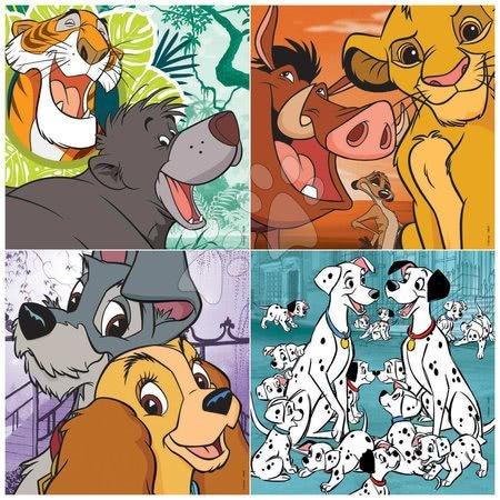 Progresivní dětské puzzle - Puzzle Disney Classics Progressive 4v1 Educa 12-16-20-25 dílků_1