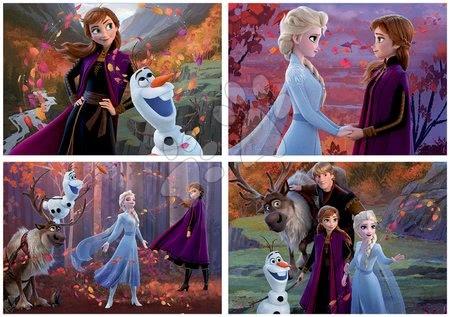 Progresivní dětské puzzle - Puzzle Multi 4 Frozen 2 Disney Educa 50-80-100-150 dílků od 5 let_1