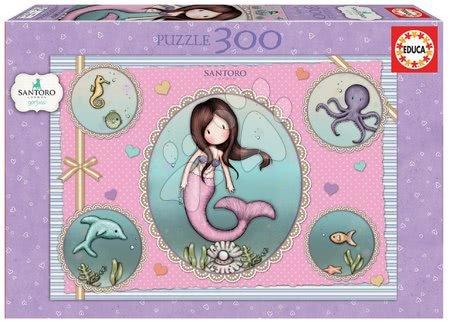 Dětské puzzle od 100–300 dílků - Puzzle Santoro Gorjuss Nice to see you Educa 300 dílků od 11 let