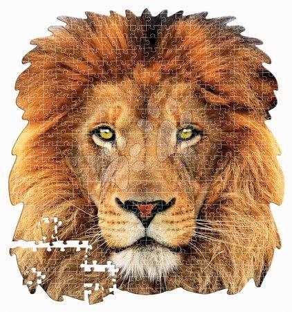 Puzzle 500 dílků - Puzzle Lion face shape Educa 375 dílků a Fix lepidlo od 11 let_1