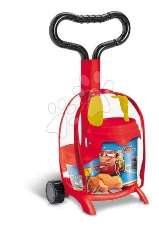 Fúriky do piesku - Vozík s vedro setom Autá Mondo (výška 59 cm) od 18 mes
