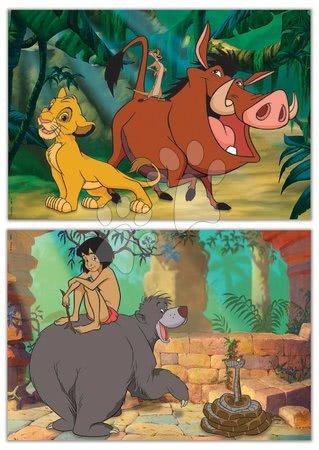 Lesene Disney puzzle - Lesene puzzle Disney Classics Jungle Book Educa 2x16 delčkov_1