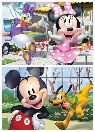Lesene Disney puzzle - Lesene puzzle Mickey&Friends Educa 2x25 delov od 4 leta_1