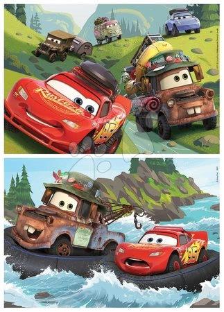 Lesene Disney puzzle - Lesene puzzle Cars 3 Educa 2x25 delčkov_1