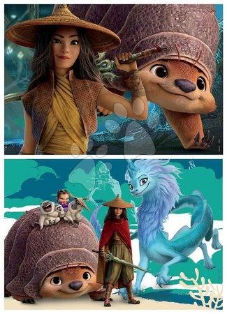 Lesene Disney puzzle - Drevené puzzle Raya and the Last Dragon Educa 2x25 dielov EDU18878_1