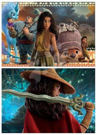 Lesene Disney puzzle - Lesene puzzle Raya and the Last Dragon Educa 2x50 delov_1