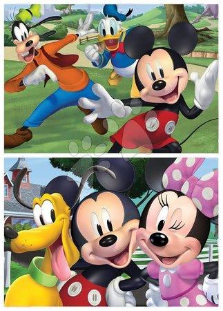 Lesene Disney puzzle - Lesene puzzle Mickey&Friends Educa 2x50 delčkov_1