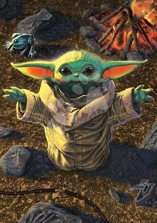 1000 darabos puzzle - Puzzle Baby Yoda The Mandalorian Educa 1000 darabos és Fix ragasztó 11 évtől_1