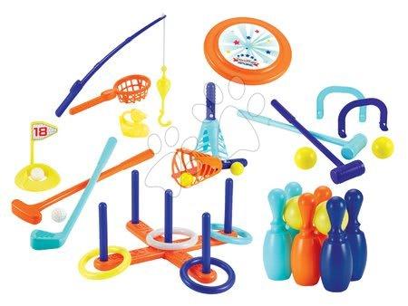 Sportovní set na zahradu Sport Écoiffier 7 druhů her