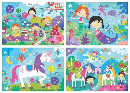 Progresivní dětské puzzle - Puzzle pohádky Fantasy Friends Progressive Educa veselé děti 20-40-60-80dílné od 4 let_1