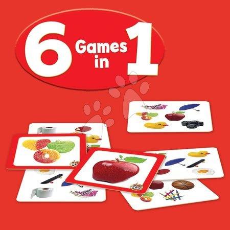 Spoločenské hry - Spoločenská hra Rýchly ako rys LYNX GO! 6in1 Educa na pamäť a reakcie 70 obrázkov od 4 rokov_1