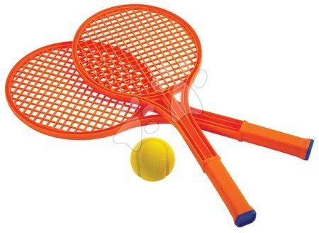 Kültéri játékok - Nagy tenisz készlet Sport Écoiffier frizbivel és labdakilövő játékkal, 55 cm 18 hó-tól_1