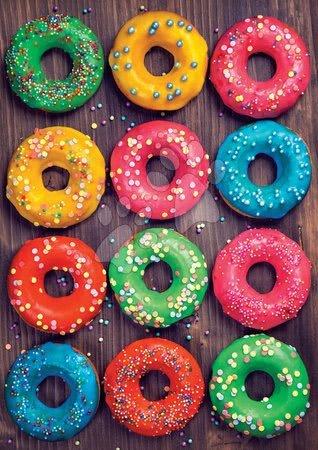 Puzzle 500 dílků - Puzzle Colourful Donuts Educa 500 dílků a Fix lepidlo v balení od 11 let_1