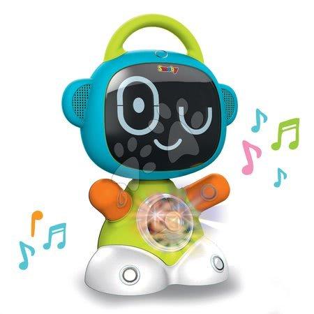 Jucării pentru bebeluși - Set Robot interactiv TIC Smart Smoby cu 3 jocuri didactice și 1,2,3 Să ne jucăm de-a v-ați ascunselea cu senzor de mișcare_1