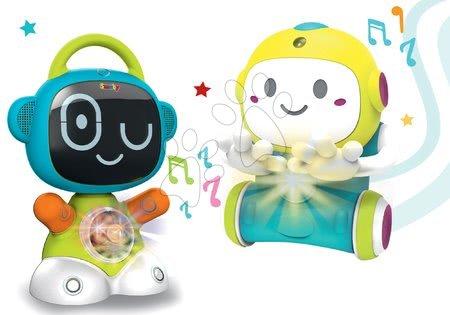 Hračky pro nejmenší - Set interaktivní Robot TIC Smart Smoby s 3 naučnými hrami a hra na schovávanou 1,2,3 s pohyblivým senzorem