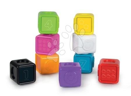 Interaktivne igrače - Interaktivna igra Clever Cubes Smart Smoby s 3 barvnimi igrami in številke_1