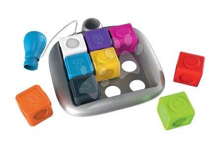 Interaktivne igrače - Interaktivna igra Clever Cubes Smart Smoby s 3 barvnimi igrami in številke